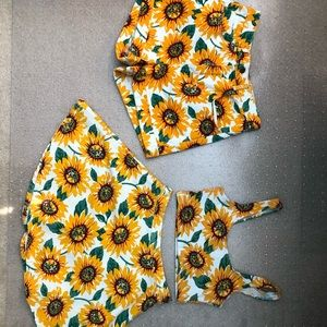 american apparel sunflower bundle